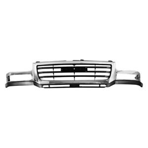For Gmc Sierra 2500 Hd 2003 2006 Replace Gm1200568 Grille