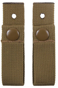 Coyote Brown MICH Helmet Goggle Straps Set Military Rothco 9857