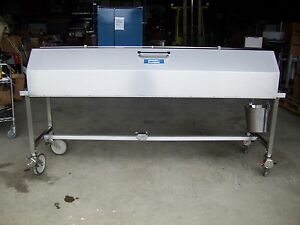 Shandon Lipshaw Autopsy Morgue Dissection Embalming Hooded Table