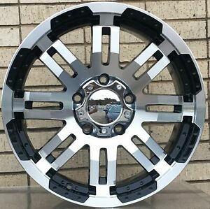 4 New 20 Wheels For Dodge Ram 1500 2013 2014 2015 2016 2017 2018 Rims 1804