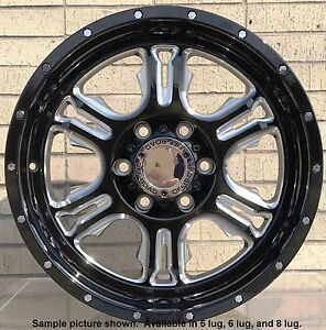 4 New 18 Wheels For Dodge Ram 1500 2013 2014 2015 2016 2017 2018 Rims 1809