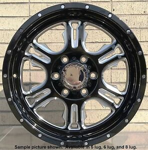 4 New 18 Wheels For Dodge Ram 1500 2007 2008 2009 2010 2011 2012 Rims 1809