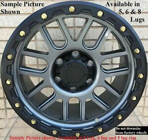 4 New 20 Wheels For Dodge Ram 1500 2013 2014 2015 2016 2017 2018 Rims 1805