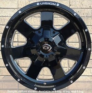 4 New 17 Wheels For Dodge Ram 1500 2013 2014 2015 2016 2017 2018 Rims 1821