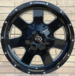 4 New 17 Wheels For Dodge Ram 1500 2001 2002 2003 2005 2005 2006 Rims 1821