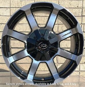 4 New 17 Wheels For Dodge Ram 1500 2013 2014 2015 2016 2017 2018 Rims 1824