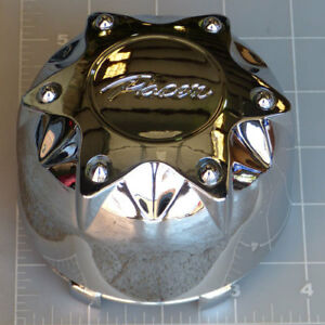 89 9235hm Pacer Chrome Snap In Center Cap