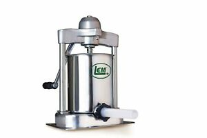 Lem Products 1607 Vertical Sausage Stuffer New