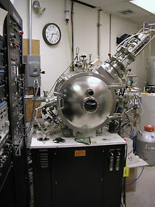 Ion Assisted 4 Pocket Ebeam Evaporatorwith 3 Sputter Deposition Guns Sources