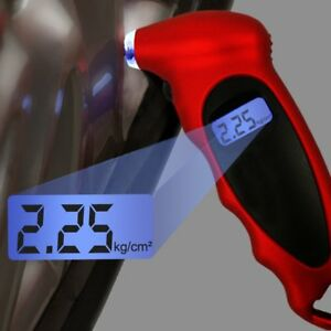 Lcd Digital Tire Tyre Air Pressure Gauge Tester Tool Meter For Car Motorcycle