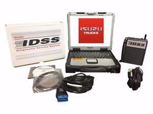 Isuzu Idss Truck Diagnostic Panasonic Toughbook Rugged Laptop Kit