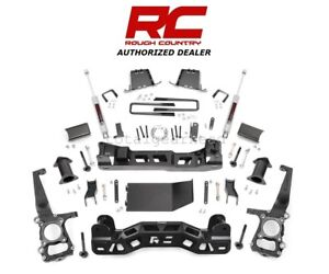 2009 2010 Ford F 150 4wd 6 Rough Country Suspension Lift Kit W N3 598s