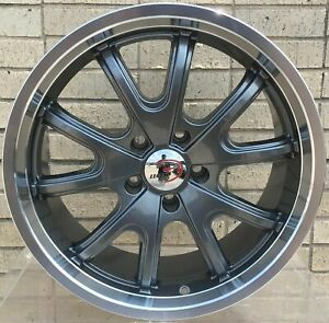 4 New 18 Wheels Rims For Jaguar Xj Xk8 Xkr Buick Skylark Special 3308