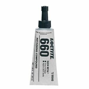 Loctite 5 Ml Tube 660 Quick Metal Retaining Compound