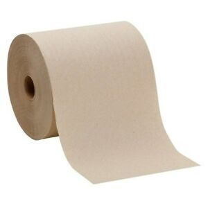 Gpc 26301 Envision Nonperforated Paper Towel Roll 7 87 X 800 Brwn 6 Rolls cs