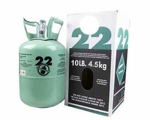 New R22 Refrigerant 10 Lb Factory Sealed Virgin Made In Usa Same Day Shipping