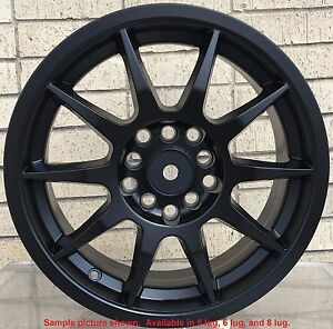 4 New 17 Wheels Rims For Cadillac Elr Seville Sts Chevrolet Cruze Diesel 3806