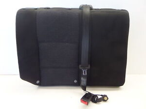 Recaro Vw Jetta Gli 20th Right Rear Seat Upper Back Mk4 Pin Stripe Golf Gti 20ae