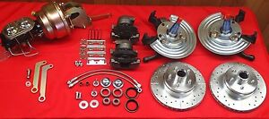 62 74 Mopar Chrysler Plymouth A Body Power Front Disc Brake Conversion 5 On 4