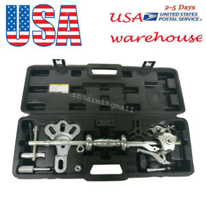 Internal external 9way Slide Hammer Axle bearing dent hub gear Puller Set Kit Us