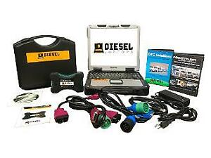 Universal Diesel Truck Diagnostic Tool Scanner Panasonic Cf30 Laptop Kit