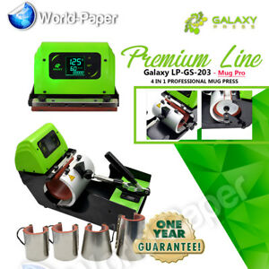 4 In 1 Digital Display Heat Press Transfer Sublimation Machine For Cup Coffee
