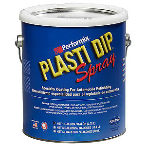 Performix Plasti Dip 10104s Rubber Coating Sprayable Blue 1 Gallon