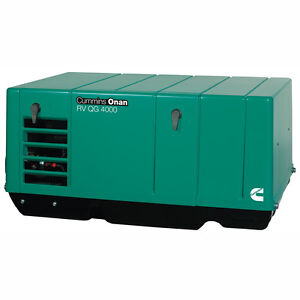 Cummins Onan 3 6 Kyfa 26120 Rv Or Commercial Generator Set Rv Qg 3600 Lp