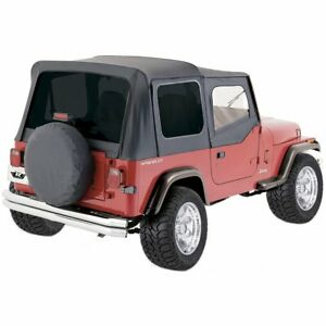 Rampage New Soft Top Black Jeep Wrangler 1987 1995