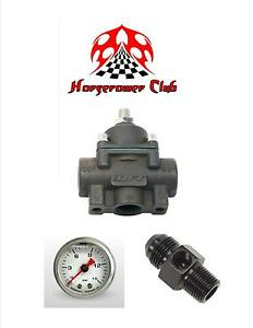 Quick Fuel 30 805 Holley Methanol E85 Fuel Pressure Regulator W Liquid Filled