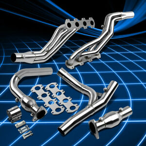 Fit Ford F150 04 10 5 4 Stainless Steel Long Tube Header Manifold y pipe Exhaust