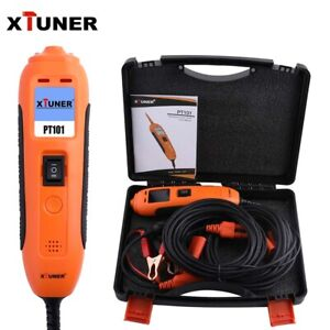12v 24v Power Probe Circuit Tester Electrical System Diagnostic Tool Pt101 km10
