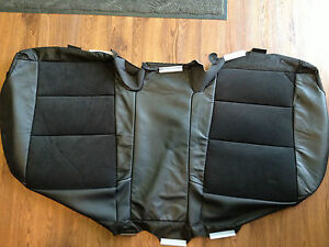 2012 Toyota Camry Factory Original Seat Cover Rear Lower black Leather suede