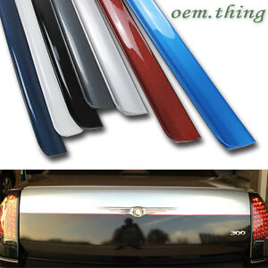 Painted Fit For Chrysler 300c 4d Rear Boot Trunk Lip Spoiler Wing 2010 Puf Pb8