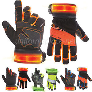 Custom Leathercraf Work Gloves Men Clc Safety Hi Viz Pro Winter Gloves