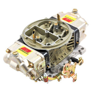 Aed 850ho bk Holley Double Pumper Carb Street Race Billet Metering Blocks