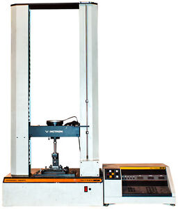 Instron 4201 Tensile Tester With Controller Static Load Cell 5kn