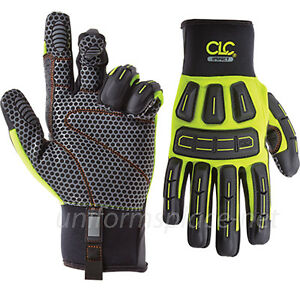 Clc Work Gloves Men Heavy Duty Oil And Gas Impact Gloves With Silicone Palm 602