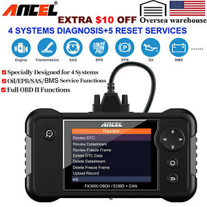 Launch Cr8021 Full Obd2 Scanner Abs Srs Epb Oil Bms Dpf Reset Tmps Diagnostic