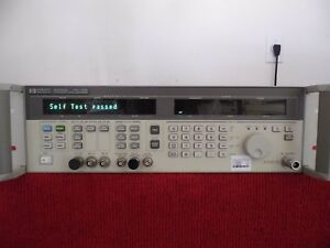 Agilent Hp 83732a Synthesized Signal Generator 10mhz 20ghz W 1e1 1e8 nist