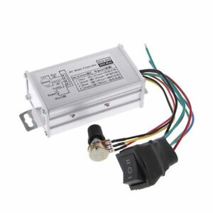 Dc 12v 24v 36v 48v Pwm Soft Start Reversible Motor Speed Control Controller