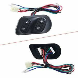 12v Autos Car Universal Power Door Window Glass Lift Switch Kits wiring Harness