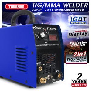 Tig mma Welder 2in1 Stainless carbon Steel Welding Machine accessories 110 220v