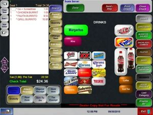 New 1 Restaurant Bar Pos System Point Of Sale W Microsale Software 2yr War
