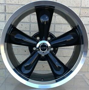 4 New 18 Wheels Rim For Ford Mainline Mustang Thunderbird Vintage Sedan 4207