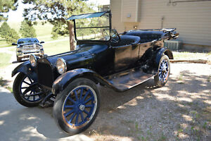 1916 Dodge Touring Car Original Good Running Condition Electric Start Great Top