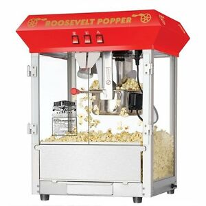 Commercial Quality Style Popcorn Popper Machine Maker Heavy Home Shop Movie Room