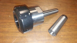 Lathe Headstock Collet Chuck Er 40 Any Lathe With Mt3 Morse Taper Spindle