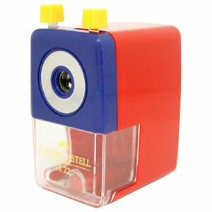 Faber castell Hand cranked Pencil Sharpener S size Red Tfc 182221 906