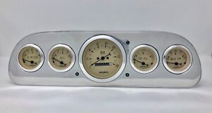 1960 1961 1962 1963 Ford Falcon Gauge Dash Cluster Tan